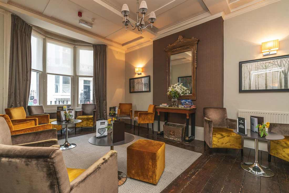 Blanch House lounge