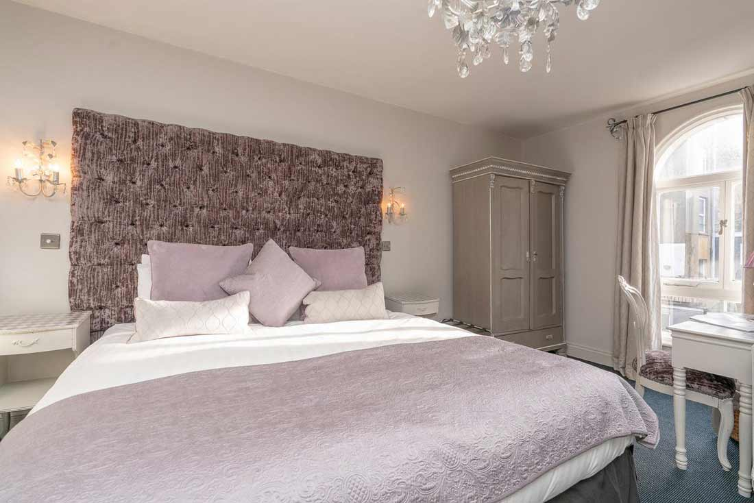 Blanch House room bed