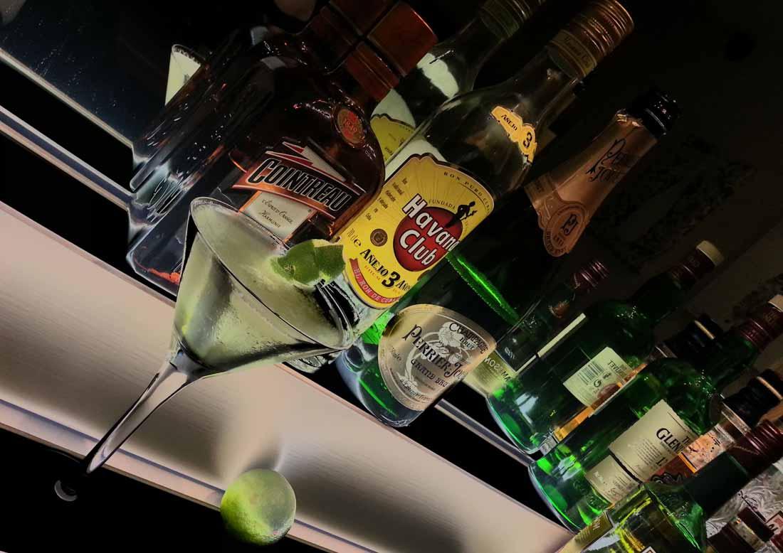 Blanch House bar