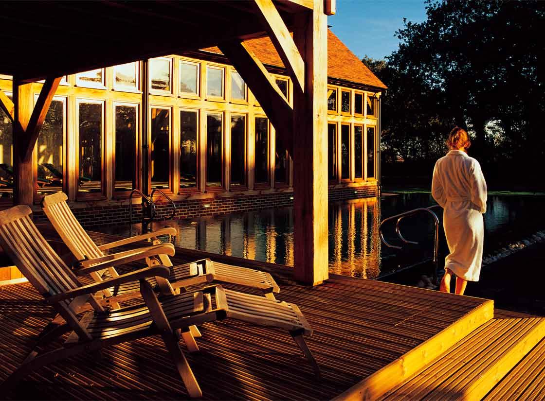 Bailiffscourt Hotel and Spa external pool