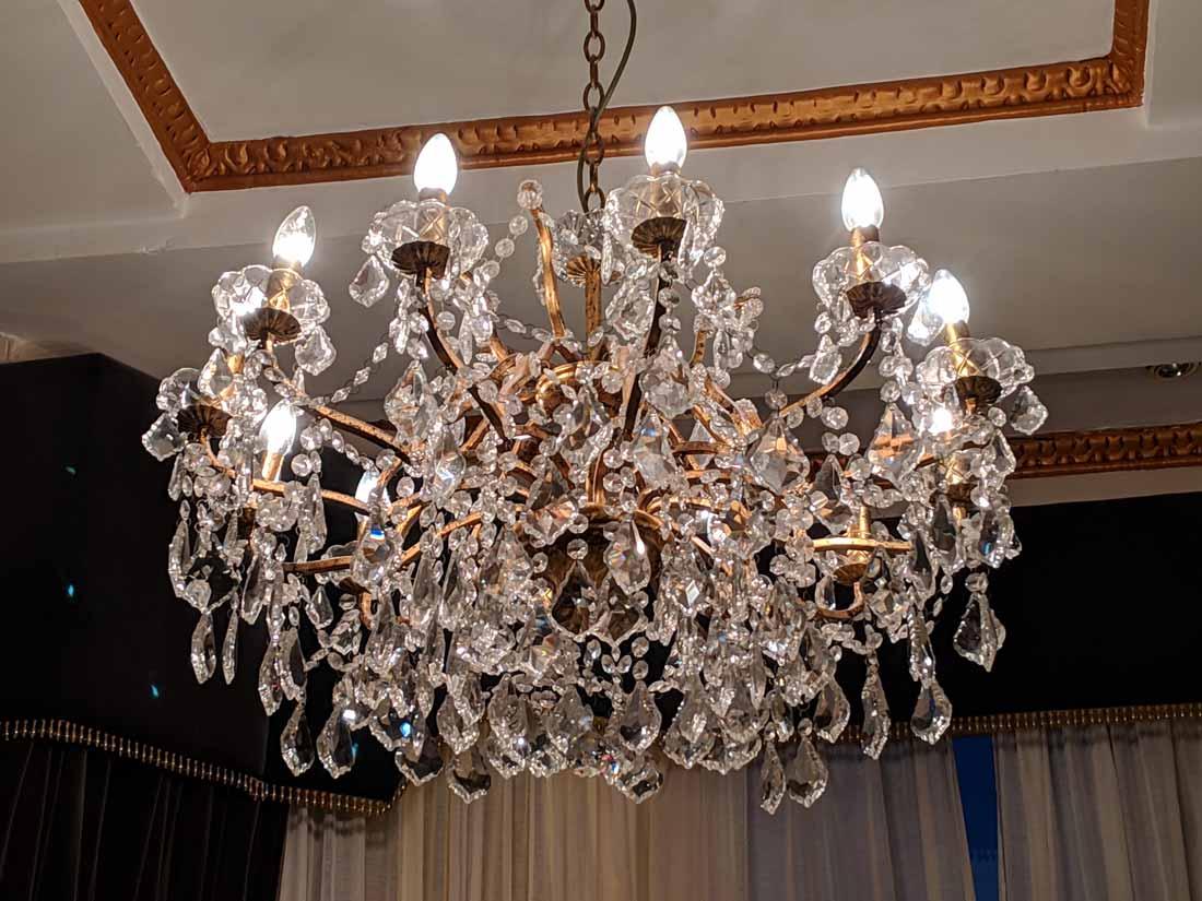 Blanch House chandelier